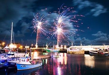 Harbour fireworks